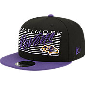 New Era Men's Baltimore Ravens  9Fifty Adjustable Black Hat