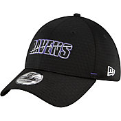 New Era Men's Baltimore Ravens Black Summer Sideline 39Thirty Stretch Fit Hat
