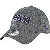 New Era Men's Baltimore Ravens Grey Summer Sideline 39Thirty Stretch Fit Hat
