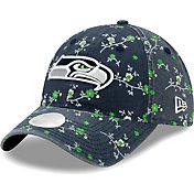 New Era Women's Seattle Seahawks Navy Blossom Adjustable Hat