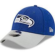 New Era Men's Seattle Seahawks Navy League 9Forty Adjustable Hat