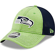 New Era Youth Seattle Seahawks Navy 9Forty Neo Adjustable Hat