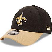 New Era Men's New Orleans Saints Black League 9Forty Adjustable Hat