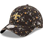 New Era Women's New Orleans Saints Black Blossom Adjustable Hat