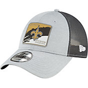 New Era Men's New Orleans Saints NFC South Division Champions 9Forty Grey Adjustable Hat