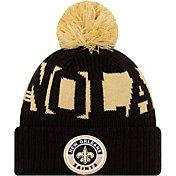 New Era Men's New Orleans Saints Sideline Sport Black Knit Hat