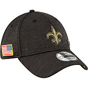 New Era Men's Salute to Service New Orleans Saints 39Thirty Stretch Fit Black Hat