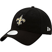 New Era Women's New Orleans Saints Black Glisten 9Twenty Adjustable Hat