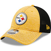 New Era Youth Pittsburgh Steelers Black 9Forty Neo Adjustable Hat