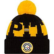 New Era Men's Pittsburgh Steelers Sideline Sport Black Knit