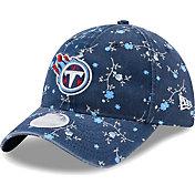 New Era Women's Tennessee Titans Navy Blossom Adjustable Hat