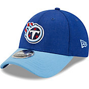 New Era Men's Tennessee Titans Navy League 9Forty Adjustable Hat