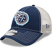 New Era Men's Tennessee Titans Navy 9Forty Rugged Adjustable Hat