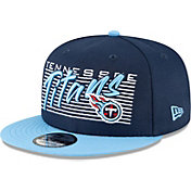 New Era Men's Tennessee Titans Navy 9Fifty Strike Adjustable Hat