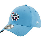 New Era Men's Tennessee Titans Team Classic 39Thirty Light Blue Stretch Fit Hat