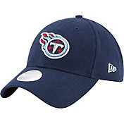 New Era Women's Tennessee Titans Navy Glisten 9Twenty Adjustable Hat