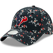New Era Women's Houston Texans Navy Blossom Adjustable Hat