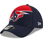 New Era Men's Houston Texans Navy 39Thirty Bolt Fitted Hat