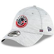 New Era Men's Houston Texans Sideline Road 39Thirty Stretch Fit Hat