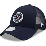 New Era Women's Houston Texans Navy Sparkle Adjustable Trucker Hat