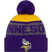 New Era Men's Minnesota Vikings Pom Knit Hat