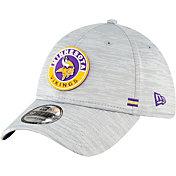 New Era Men's Minnesota Vikings Sideline Road 39Thirty Stretch Fit Hat