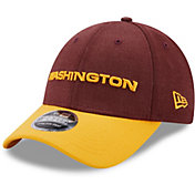 New Era Men's Washington Football Team Dark Red League 9Forty Adjustable Hat