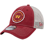 New Era Men's Washington Football Team Dark Red 9Forty Rugged Adjustable Hat