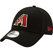 New Era Men's Arizona Diamondbacks Black Core Classic 9Twenty Adjustable Hat