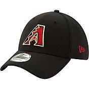 New Era Men's Arizona Diamondbacks Black Classic 39Thirty Stretch Fit Hat