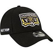 New Era Men's 2020 MLS Cup Champions Columbus Crew Locker Room 9Forty Adjustable Hat