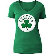 New Era Women's Boston Celtics Green Logo T-Shirt