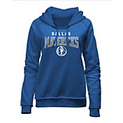 New Era Women's Dallas Mavericks Blue Wordmark Hoodie