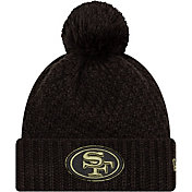 New Era Women's Salute to Service San Francisco 49ers Black Pom Knit