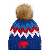 New Era Women's Buffalo Bills Glacier Knit Pom Beanie