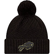 New Era Women's Salute to Service Buffalo Bills Black Pom Knit