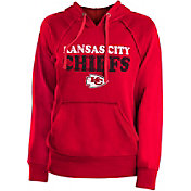 New Era Women's Kansas City Chiefs Block Name Red Hoodie