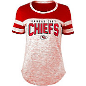 New Era Women's Kansas City Chiefs Varsity Space Dye T-Shirt