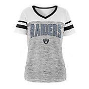 New Era Women's Las Vegas Raiders Varsity Dye Black T-Shirt