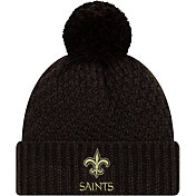New Era Women's Salute to Service New Orleans Saints Black Pom Knit