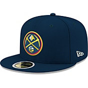 New Era Youth Denver Nuggets 59Fifty Navy Authentic Hat
