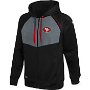 New Era Men's San Francisco 49Ers Black Long Sleeve Full-Zip Jacket