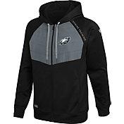 New Era Men's Philadelphia Eagles Black Long Sleeve Full-Zip Jacket