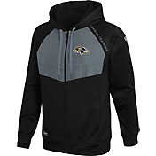 New Era Men's Las Vegas Raiders Black Long Sleeve Full-Zip Jacket