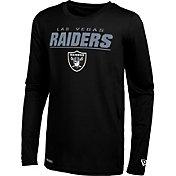 New Era Men's Las Vegas Raiders Black Poly Long Sleeve T-Shirt