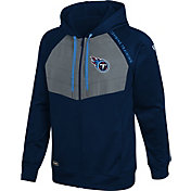New Era Men's Tennessee Titans Black Long Sleeve Full-Zip Jacket