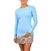 Sofibella Women's UV Colors Long Sleeve Tennis T-Shirt