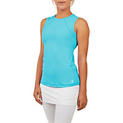 Sofibella Women's UV Colors Sleeveless Tennis Tank Top