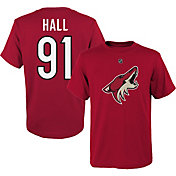 NHL Youth Arizona Coyotes Taylor Hall #91 Red Player T-Shirt