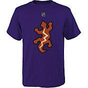 NHL Youth Arizona Coyotes Special Edition Logo Purple T-Shirt